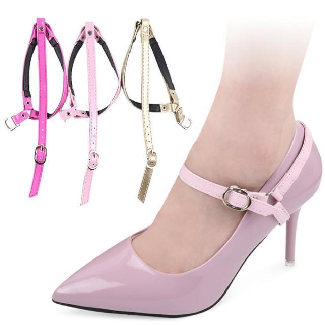 【DAYOU】los0651三角形束鞋帶高跟鞋防掉鞋鞋扣袢配件大不跟腳綁帶(大友)