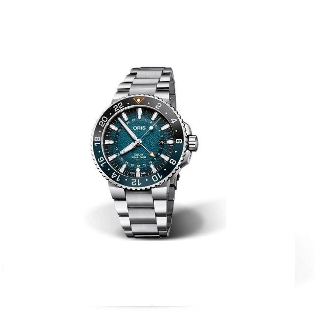 【ORIS 豪利時】AQUIS WHALE SHARK 鯨鯊限量腕錶/43.5mm(0179877544175-Set)