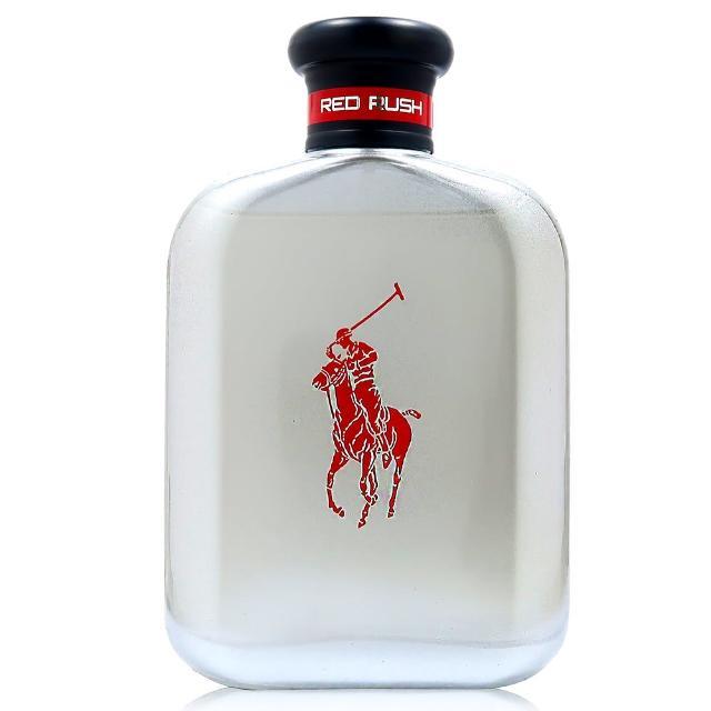 【RALPH LAUREN】組合-POLO RED RUSH 紅色狂熱馬球淡香水125ML(TESTER 平行輸入)
