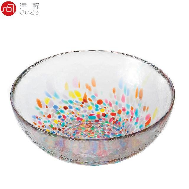 【ADERIA】日本津輕 手作睡魔玻璃碗 DF-71169(玻璃碗)
