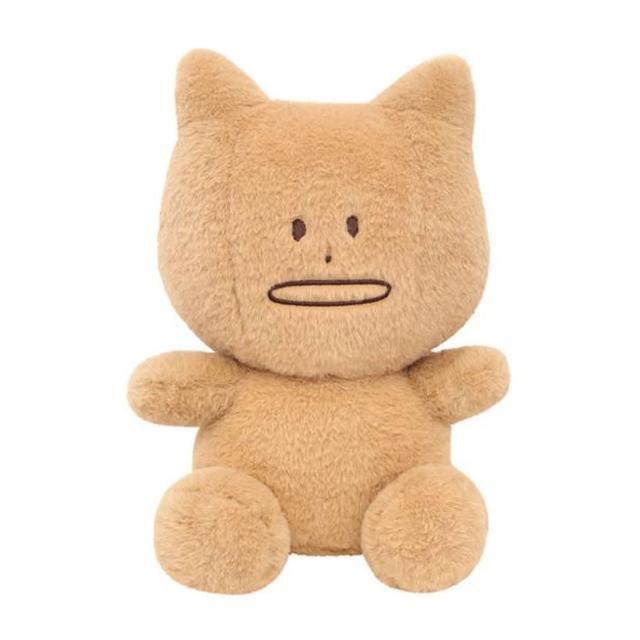 【CRAFTHOLIC 宇宙人】馬卡龍米白貓坐姿大抱枕(馬卡龍系列)