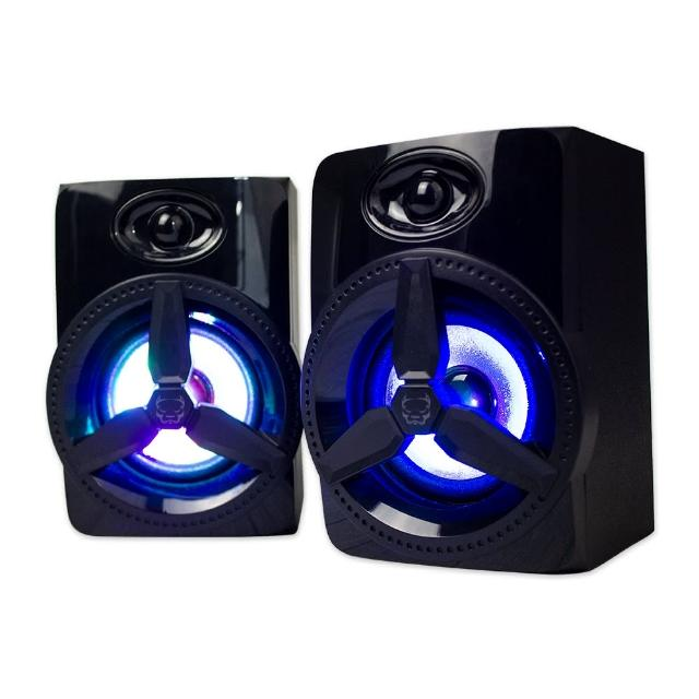 【ATake】桌上型多媒體喇叭X10(喇叭 多媒體喇叭 音響喇叭 電腦喇叭)