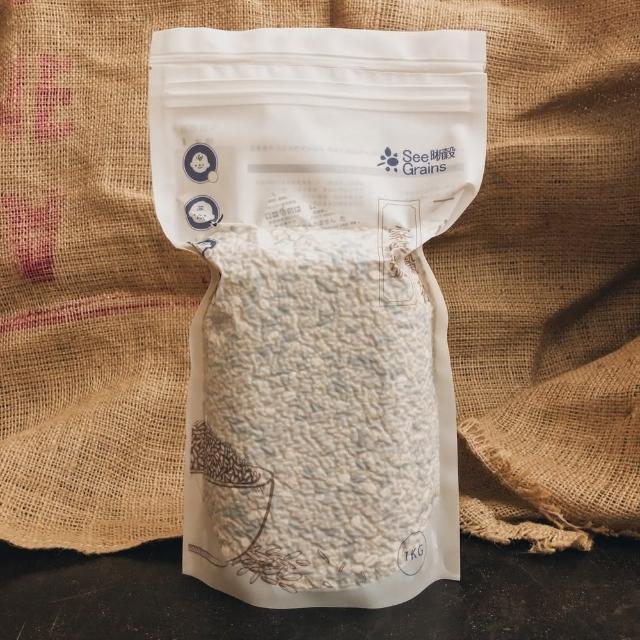 【SeeGrains 晰穀】一小包穀物 經典配方家庭號 4包組(1公斤真空裝x4)