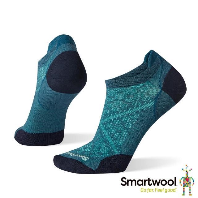 【SmartWool】女 PhD超輕跑步踝襪(深普魯士藍)