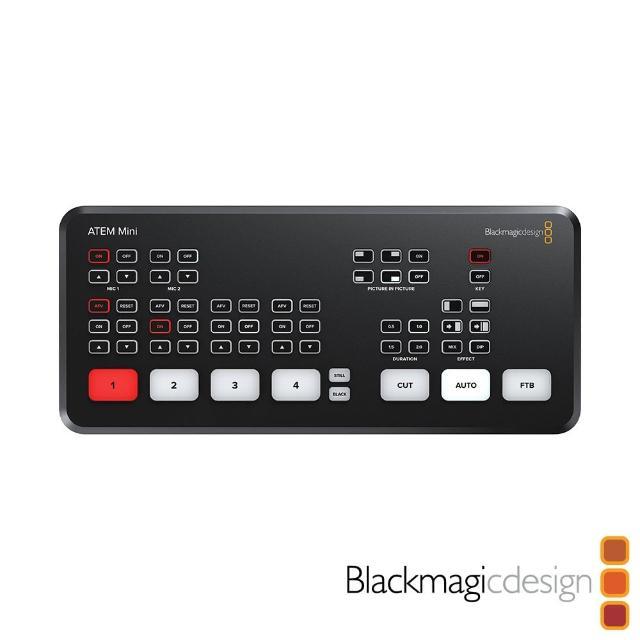 【BlackMagic】BMD ATEM Mini HDMI 4路 經濟型導播機(公司貨)