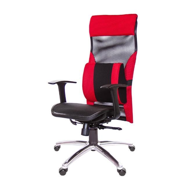 【GXG 吉加吉】高背電腦椅 T字扶手/大腰枕(TW-170 LUA)
