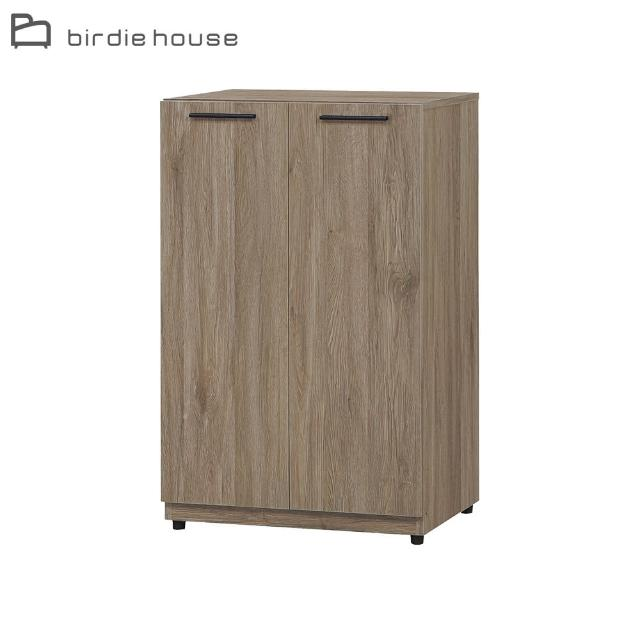 【柏蒂家居】西恩2尺古橡色二門鞋櫃/收納置物櫃