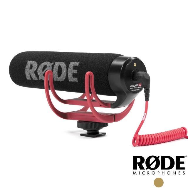 【RODE】VideoMic GO 超指向專業電容式麥克風(公司貨)