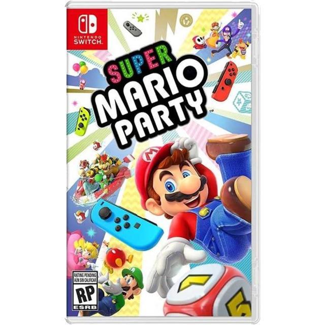 Nintendo 任天堂【Nintendo 任天堂】NS Switch 超級瑪利歐派對 中文版(支援中文)