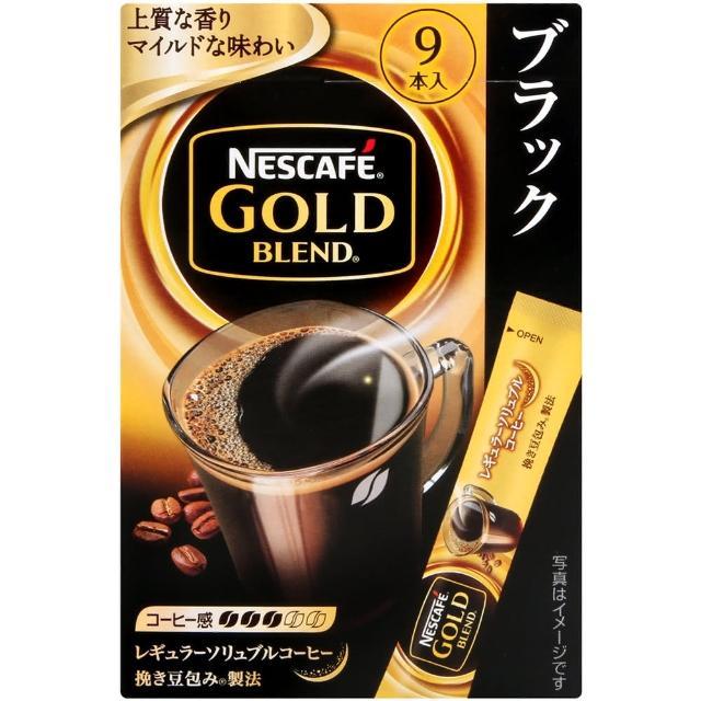 【Nestle 雀巢】金牌黑咖啡-18g(2g x9入)