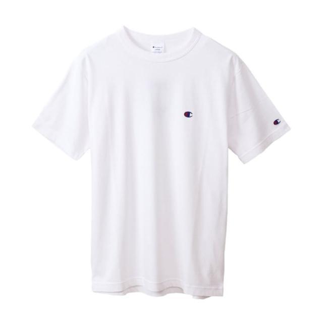 【Champion】Basic 男女款經典素色短袖T恤-NO.C3-P300-010