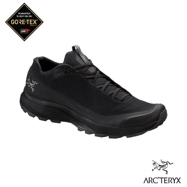 【Arcteryx 始祖鳥】男 Aerios FL Gore-tex 登山鞋(黑/機長灰)