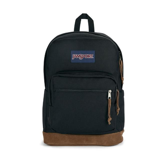 【JANSPORT】RIGHT PACK單邊水壺側袋款(黑 JS-43972J008)