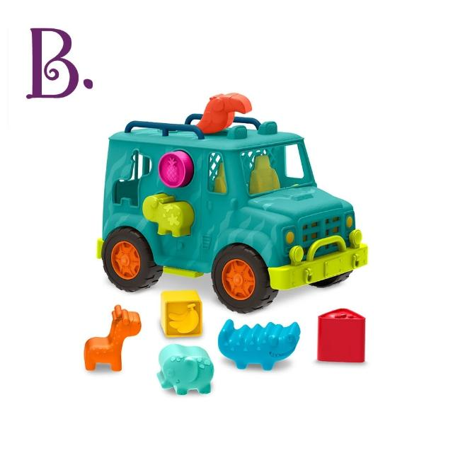 【B.Toys】飽胃站生態吉普車(酪梨)