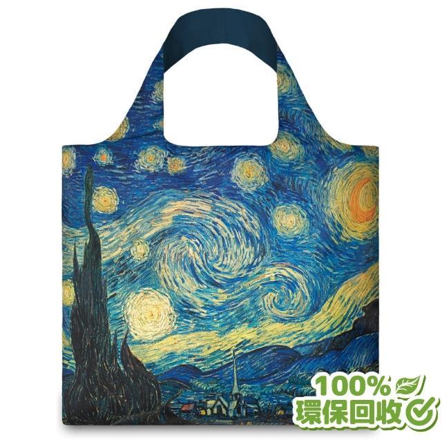 【murmur】梵谷星空-無扣帶、無暗袋(購物袋.環保袋.收納.春捲包)
