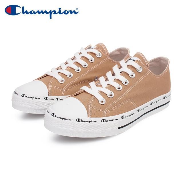 【Champion】CLASSIC CP CANVAS 男女中性款咖啡色低筒帆布鞋NO.USLS-1013-77