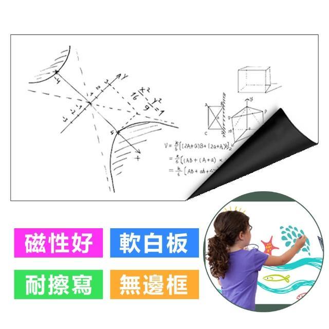 【台灣霓虹】磁性可移除白板貼60x90CM