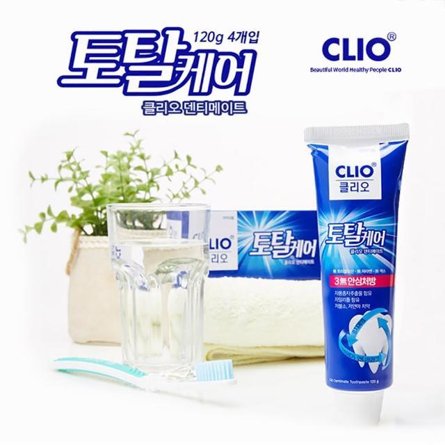 【韓國原裝進口】CLIO 葡萄柚籽低氟溫和淨齒牙膏(150g X6條/兒童可用)