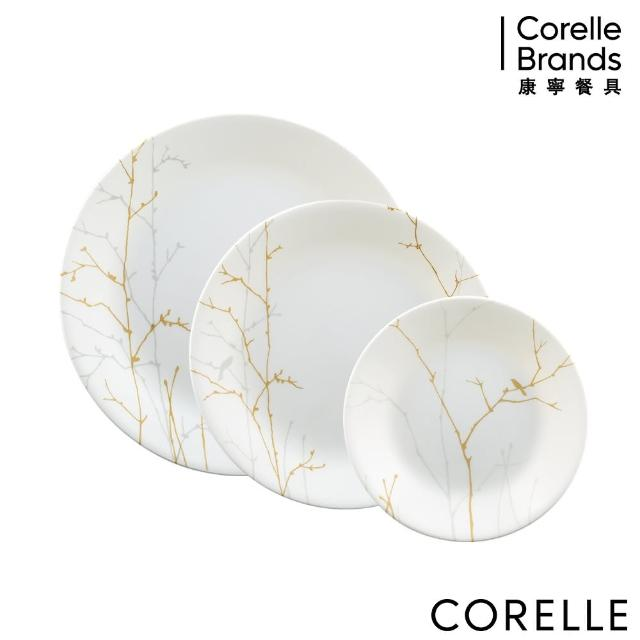 【CorelleBrands 康寧餐具】冬日詩篇3件式餐盤組(C01)