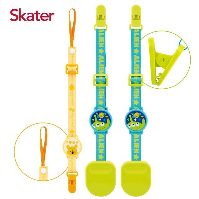 【Skater】防丟夾+推車棉被強力夾(迪士尼)