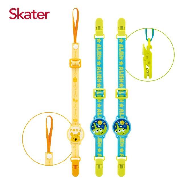 【Skater】防丟夾+雙夾固定帶(迪士尼)