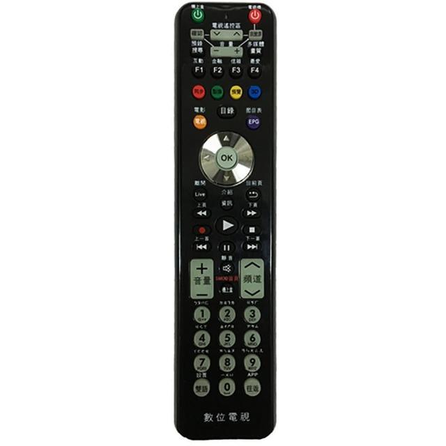 【全區版】第四台有線電視數位機上盒遙控器 MOD-1000(3入組)