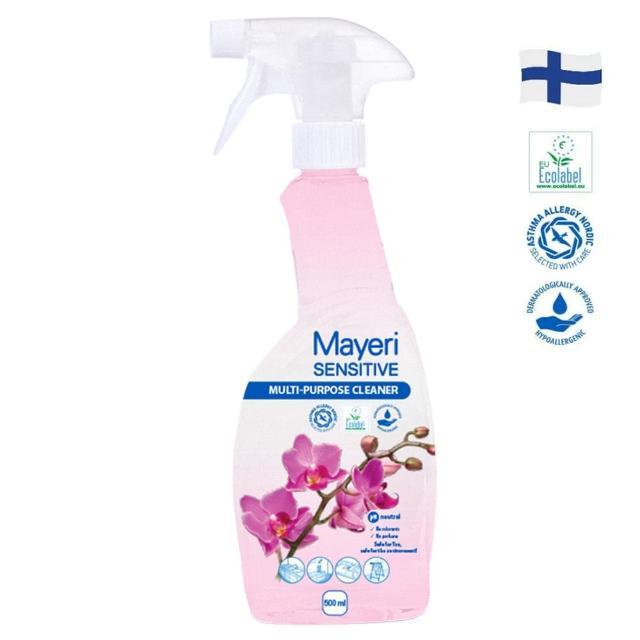 【Mayeri 瑪耶里】低敏速淨萬用多功能清潔噴霧(500ml)
