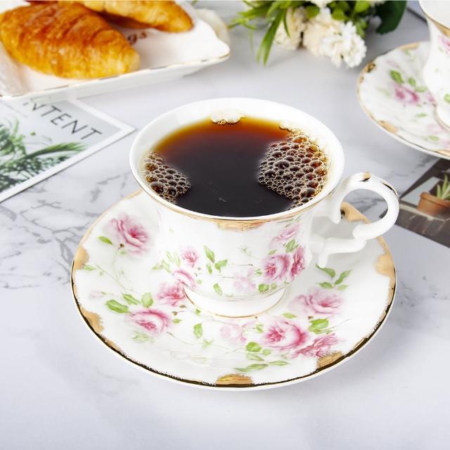 【Royal Duke】骨瓷咖啡杯組-玫瑰園(兩杯兩碟咖啡杯組)