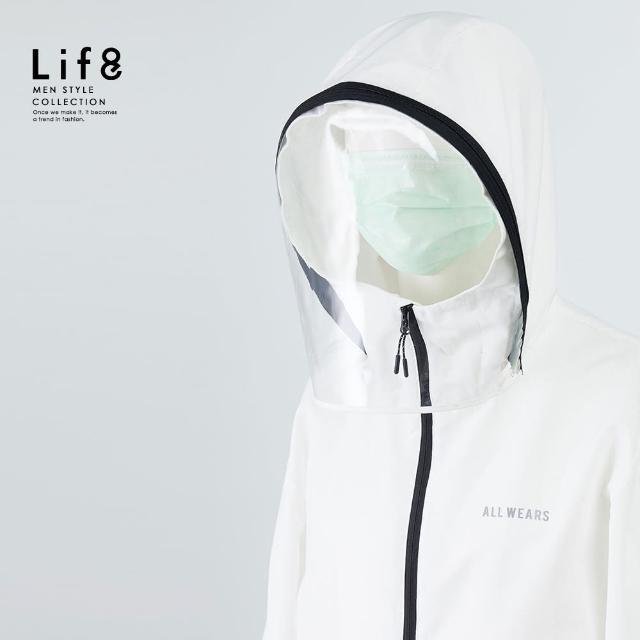 【Life8】All Wears 兩用可拆式 防護衝鋒外套(16055)