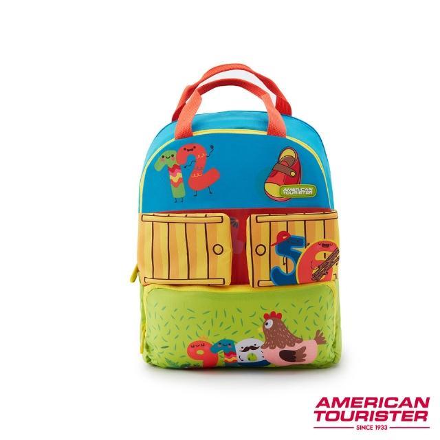 【AMERICAN TOURISTER 美國旅行者】COODLE趣味3D雙層動物童包(多色可選)