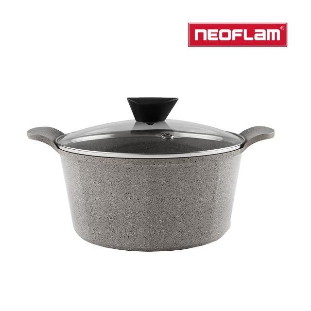 【NEOFLAM】Venn系列24cm湯鍋(含玻璃蓋)