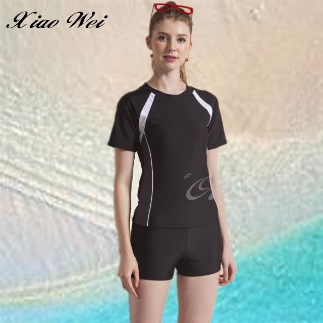 【小薇的店】泳之美時尚二件式短袖泳裝(NO.282318)