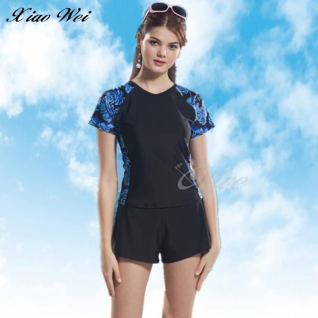 【小薇的店】泳之美時尚二件式短袖泳裝(NO.289138)