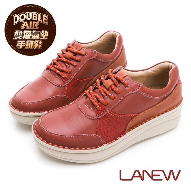 【La new】DOUBLE AIR 氮氣墊防黴抑菌手縫休閒鞋(女50270202)