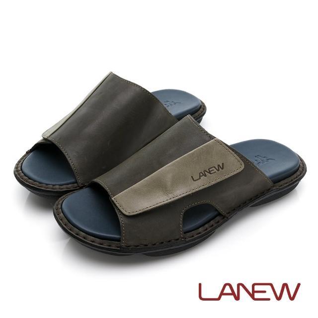 【La new】輕量手縫拖鞋(男64270701)