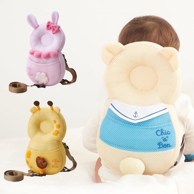 【奇哥】可愛動物幼兒透氣學步防撞/防走失背包(3款選擇)