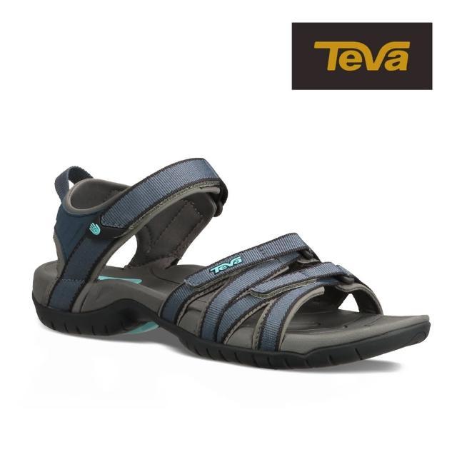 【TEVA】原廠貨 女 Tirra 水陸多功能運動涼鞋/雨鞋/水鞋(海洋深藍-TV4266BNS)