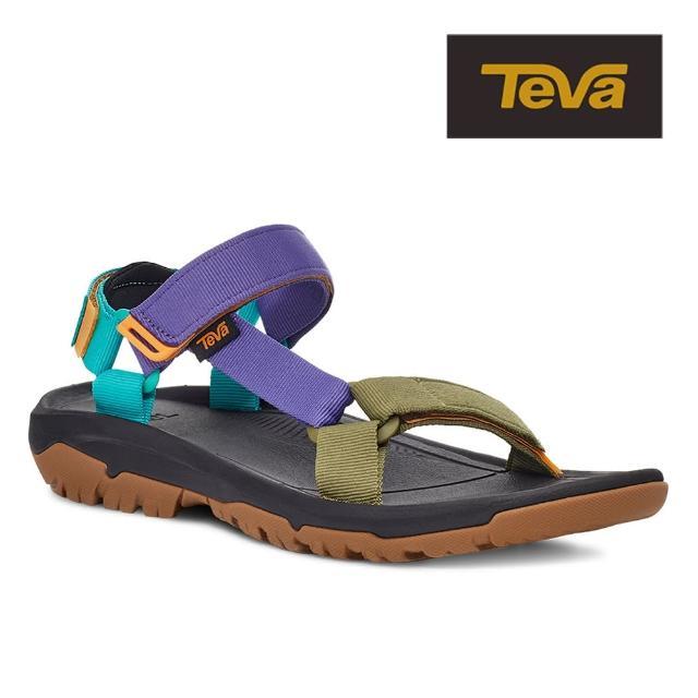 【TEVA】原廠貨 男 Hurricane XLT2 機能運動涼鞋/雨鞋/水鞋(復古亮彩色-TV1019234BRMLT)