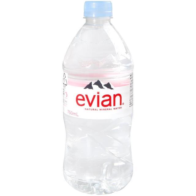 【Evian 依雲】evian天然礦泉水750ml(750ml)