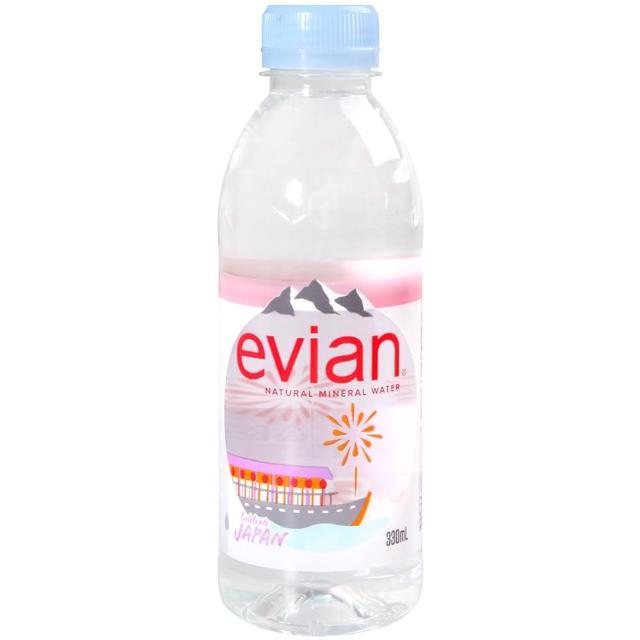 【Evian 依雲】evian天然礦泉水330ml(330ml)