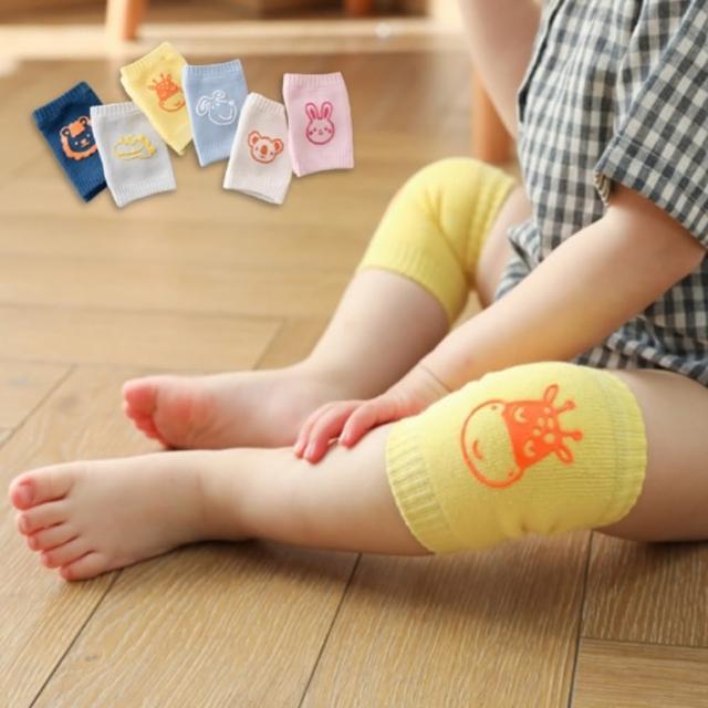 【橘魔法】純棉防滑動物膠印多功能護膝袖套(嬰兒襪套 襪子 短襪 女童 男童 小童 新生兒 童裝)