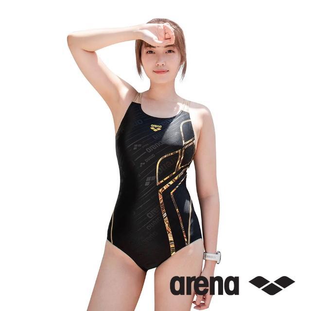 【arena】女泳衣 訓練 三角 連身 TSS1034W