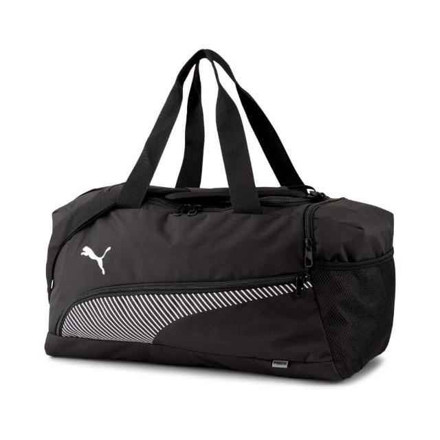【PUMA】PUMA Fundamentals運動小袋 男女 側背包 黑色(07728901)