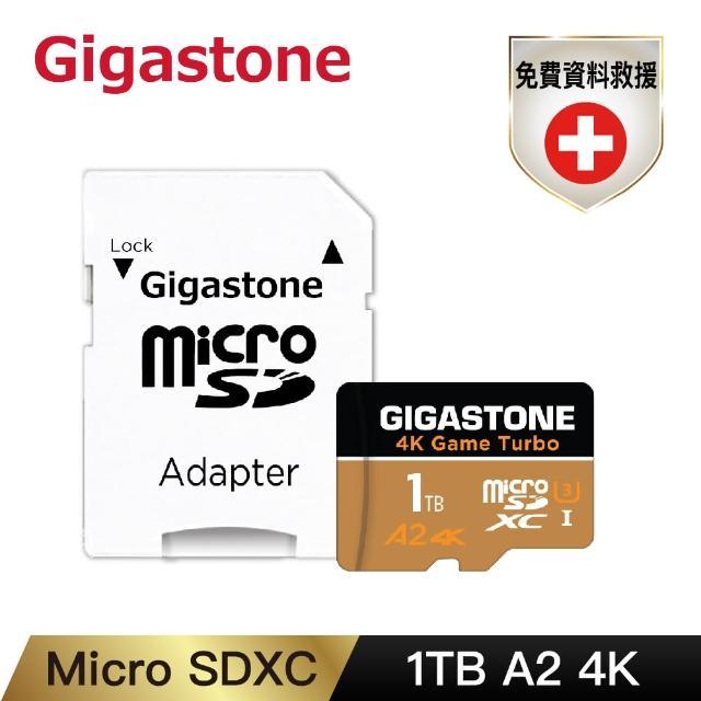 【Gigastone 立達國際】Data Recovery 1TB micro SDXC UHS-Ⅰ U3 資料救援記憶卡(1T A2 4K高速記憶卡)