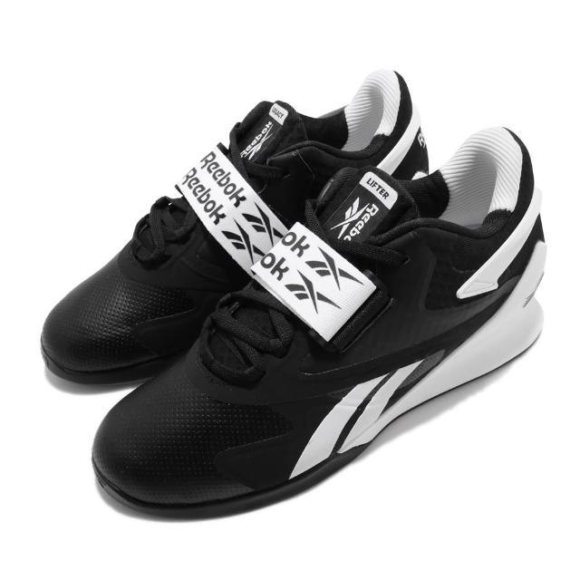 【REEBOK】訓練鞋 Legacy Lifter II 男鞋 健身房 重量訓練 支撐 運動 球鞋 黑 白(FU9459)