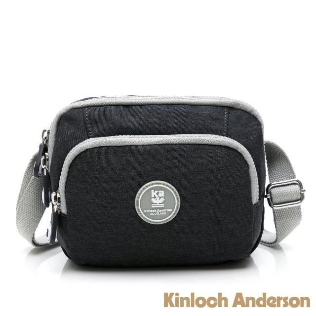 【Kinloch Anderson】OUTDOOR 防潑水多功能側背包(鐵灰色)