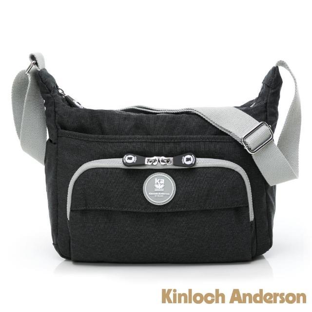 【Kinloch Anderson】OUTDOOR 多隔層斜側包(鐵灰色)