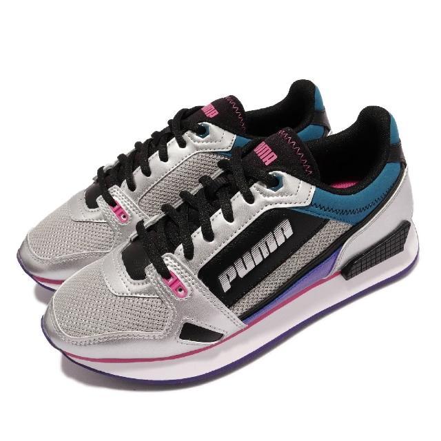 【PUMA】休閒鞋 Wonder Galaxy 女鞋 海外限定 Mile Rider 復古 穿搭 黑銀(37394401)