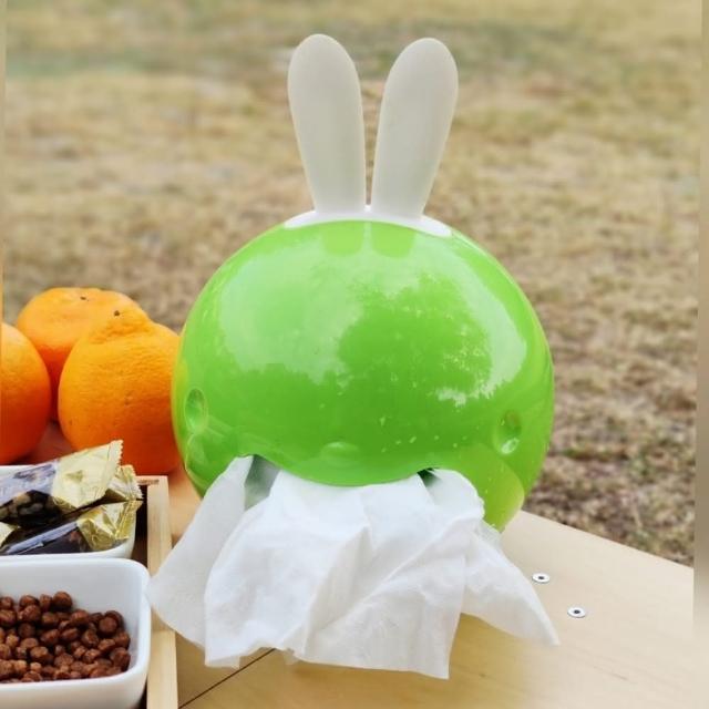 【May shop】兔子長耳朵球形衛生紙捲套