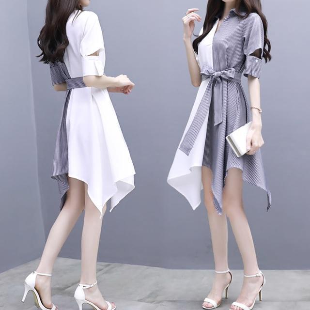【A3】歐美設計甜美洋裝(舒適上衣)
